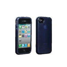 New Belkin High Gloss Silicone Case Skin Cover For AT&T Apple iPhone 4, 4S Black