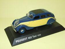 PEUGEOT 402 TAXI 1939 NOREV sur socle