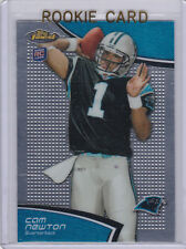 CAM NEWTON Topps Finest NFL RC Carolina Panthers $$ NFL ROOKIE CARD Auburn Tiger