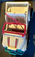 Larger BARBIE Mattel White and pink Barbie Convertible JEEP Buggy
