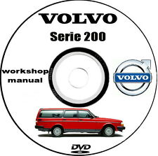 Workshop Manual Volvo serie 200,manuale officina Volvo 240,Volvo 260.