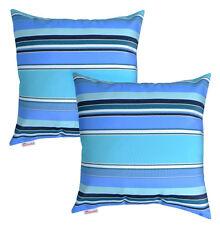 """16""""x16"""" Sunbrella Outdoor Home Garden Decorative Throw Pillows 2 Pc Set New"""