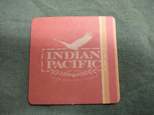 #D225. INDIAN  PACIFIC RAILWAY  DRINK COASTER