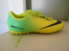 Nike JR Mercurial Victory IV TF 555634 703 Turf Soccer Cleats Youth Sz 3 *READ*