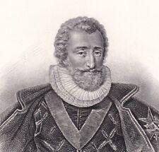 Portrait Henri IV Henri Le Grand Bourbon Marie de Médicis