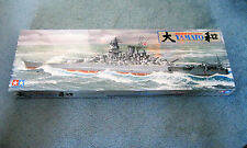 Tamiya Japanese Battleship Yamato Plastic Model Kit No. 78002 1/350 Scale 1979