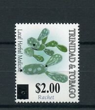 Trinidad & Tobago 2015 MNH Loc Herbal Medicine Ratchet OVPT 1v Set Cactus Stamps