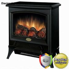 Portable Electric Fireplace Stove Heater Fire Bedroom Living Room Black Option