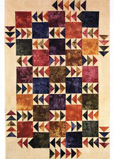 Geese in the Fields - modern pieced quilt PATTERN - Far Flung Quilts