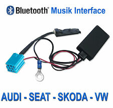 AUX adaptador Bluetooth VW radio Alpha Beta Gamma 5 premium 5 6 radio
