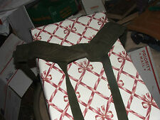 Vtg WWll? U.S. Military Field Pack Suspenders, Cotton, to 68 LBS; FAST S&H