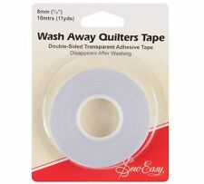 "Wash Away Quilters Tape Double Sided AdhesiveTape  5/16"" (8mm) x 10m"