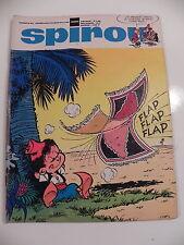 SPIROU LE JOURNAL DE SPIROU 1606 Janvier 1969 Couverture KIKO pub. DINKY TOYS