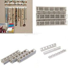 Jewelry Organizer Wall Mount Hanger Necklace Ring Bracelet Display Rack