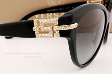 Brand New VERSACE Sunglasses VE 4283B GB1/11 BLACK/GRADIENT GRAY For Women