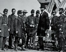 "President Abraham Lincoln at Antietam 8""x 10"" Civil War Photo Picture #33"