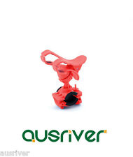 New Bike Bicycle Phone Mobile Cell Clip Cradle Holder Mount Red