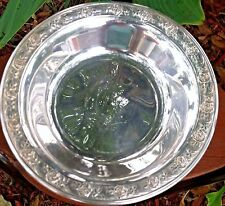 New listing Reed and Barton Classic Rose Design Silver Planted Bowl ~ Made in Usa