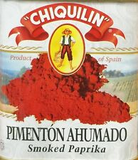 2.64oz Chiquilin Pimenton Ahumado Smoked Paprika from Spain Gluten Free