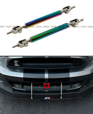 Neo Chrome Bumper Lip Splitter Strut Rod Tie Bar For Acura Integra TSX RSX DC TL