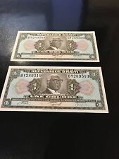 2 UNE GOURDE HAITI PAPER MONEY UNCIRCULATED 1979 FRANCOIS DUVALIER