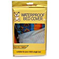 BED WETTING WATERPROOF SHEET CHILD KIDS BABY SINGLE MATTRESS COT COVER PROTECTOR