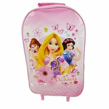 DISNEY Princess con Ruote Trolley Borsa Kids Girls Outdoor Vacanza Borsa da viaggio