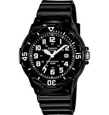 Casio LRW200H-1BV, Women's Analog Black Resin Band, Date, 100 Meter WR