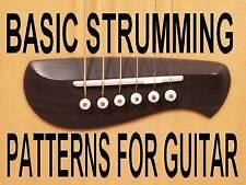 Basic Strumming Patterns For Guitar DVD Beginner Lesson