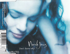 NORAH JONES Don't Know Why CD Single NEW
