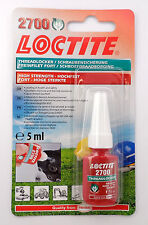 Loctite 2700 OEM Specified High Strength Thread Lock & Sealant- Stud/ Nutlock