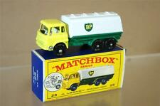 MATCHBOX LESNEY 25 BEDFORD BP PETROL TANKER MINT BOXED mw