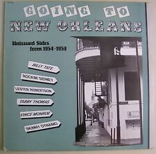Going to New Orleans LP~Rockin Sidney~Tabby Thomas~Billy Tate~UK Flyright