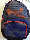 NWT Roxy Sunset Palm Tree School LapTop Backpack Book Bag Full Size NEW