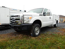 2013 FORD F250 4X4 EXT. CAB UTILITY SERVICE BODY WORK TRUCK 1-OWNER US GOV.SERV