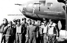 "Memphis Belle B-17 Flying Fortress Bomber Crew 13""x 19"" WWII Photo Poster 600"