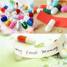 Korean 50 Love Adorable Letter Unique Colors Cute Message Pills 50pcs Capsule