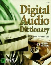 Digital Audio Dictionary by Cool Breeze Systems Staff (1999, Paperback)