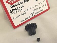KYOSHO INFERNO VE, MP9e DBX 2 VE, DRXve, 15T PINION GEAR NEW IN PACKET, 97044-15
