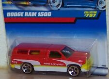 1997 Hot Wheels Dodge Ram 1500 W/Camper Shell and See Through Windows