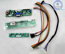 LCD Controller Board DIY Kit(RTD2270L)Power Adapter Driver LVDS Cable Inverter