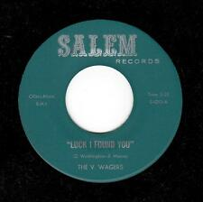 CHICAGO NORTHERN-5 WAGERS-SALEM-1013-LUCK I FOUND YOU/UNTIL I FOUND YOU