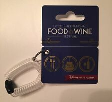2015 EPCOT Food & Wine Festival Gift Card $0 Value Disney World