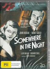 SOMEWHERE IN THE NIGHT - FILM NOIR - NEW & SEALED REGION 4 DVD FREE LOCAL POST