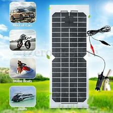 18V 10W Semi Flexible Mono Solar Panel Trickle Battery Charger For Car Boat