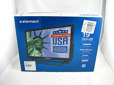 NEW SEALED Element ELEFW195 19-Inch 720p 60hz LED TV