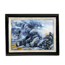* Feng Shui * 2014 - 3 Sheep On The Mountain Plaque - Laminated