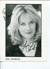 June Chadwick V The Series This Is Spinal Tap Signed Autograph Photo