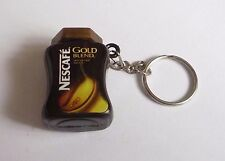 Nescafe GOLD BLEND Coffee Jar Limited Edition KEYCHAIN Keyring Novelty