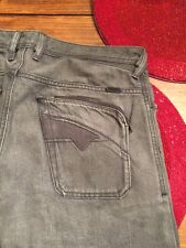 DIESEL POIAK JEANS MENS 008WM  SIZE:  30/35 TAPERED STRAIGHT $290
